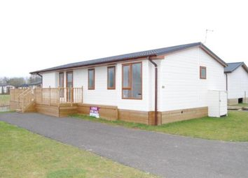 Thumbnail 2 bed mobile/park home for sale in Tydd St. Giles, Wisbech, Cambridgeshire