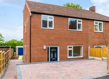Thumbnail 3 bed semi-detached house for sale in Silk Mill Avenue, Cookridge, Leeds