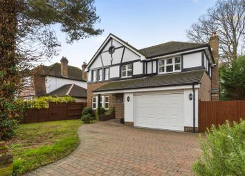 Thumbnail 5 bed detached house for sale in Upfield, Horley