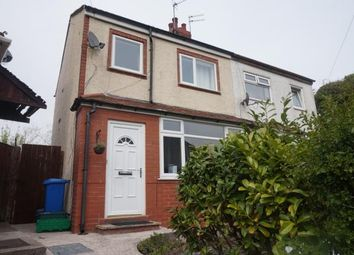 Thumbnail 2 bedroom semi-detached house for sale in Crabtree Road, Thornton-Cleveleys, Lancashire