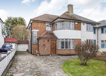 Thumbnail 3 bed semi-detached house for sale in Edgebury, Chislehurst, Kent