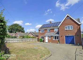 Thumbnail 5 bed detached house for sale in Bradenham Road, Shipdham, Thetford, Norfolk