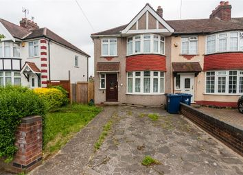 Thumbnail 3 bed end terrace house for sale in Tavistock Avenue, Perivale, Greenford, Greater London