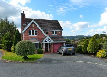 Thumbnail 4 bed detached house for sale in Harboro Close, Ashbourne