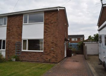 Thumbnail 2 bedroom semi-detached house for sale in Edward Road, Eynesbury, St. Neots