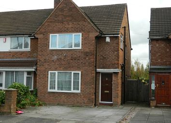 Thumbnail 3 bed end terrace house to rent in Maryland Avenue, Hodge Hill, Birmingham