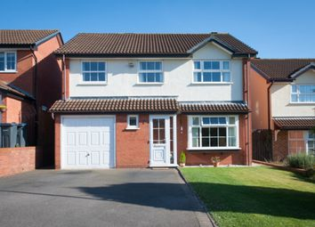 Thumbnail 4 bed detached house for sale in Glenfield Close, Sutton Coldfield
