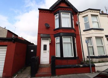 3 bed end terrace house to rent in Hornby Road, Bootle L20
