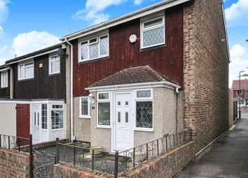 Thumbnail 3 bed end terrace house for sale in Wisteria Gardens, Swanley, Kent