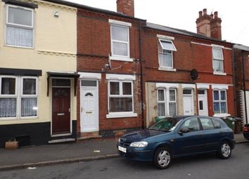 Thumbnail 2 bed terraced house for sale in Windermere Road, Nottingham, Nottinghamshire