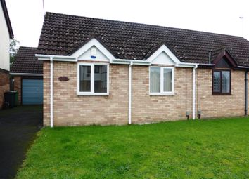 Thumbnail 2 bed semi-detached bungalow for sale in Wren Close, St. Mellons, Cardiff