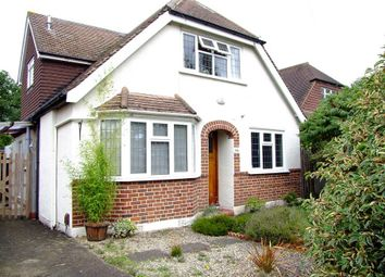 Thumbnail 3 bed detached house to rent in Woodlands Avenue, West Byfleet, Surrey