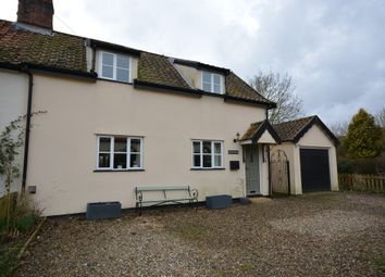 Thumbnail 3 bed semi-detached house to rent in East Church Street, Kenninghall, Norwich