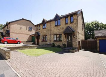 Thumbnail 3 bed semi-detached house for sale in Westwood Close, Great Holm, Milton Keynes, Bucks
