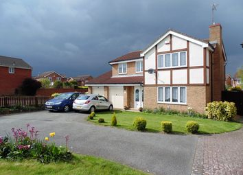 Thumbnail 4 bed detached house to rent in Medway Drive, Wellingborough, Northamptonshire