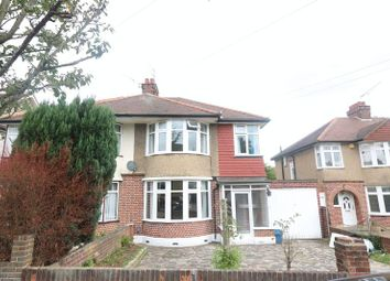 Thumbnail 3 bed semi-detached house to rent in Beverley Crescent, Woodford Green