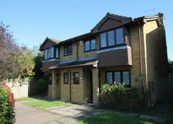 Thumbnail 3 bed semi-detached house to rent in Littlebrook Close, Shirley, Croydon, Surrey