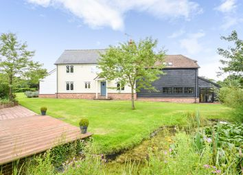 Thumbnail 5 bed detached house to rent in The Pightle, Church Lane, Newmarket
