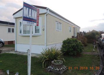 Thumbnail 1 bed bungalow for sale in Hamble Park, Fleet End Road, Warsash, Southampton