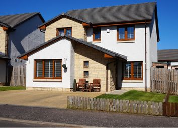 Thumbnail 4 bed detached house for sale in Monikie, Dundee