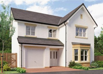"Thumbnail 4 bedroom detached house for sale in ""Yeats"" at Broomhouse Crescent, Uddingston, Glasgow"