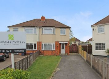 Thumbnail 3 bed semi-detached house for sale in Sunset Road, Totton, Southampton