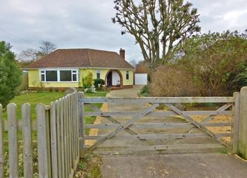 Thumbnail 3 bed detached bungalow for sale in Solent Road, Hill Head, Fareham