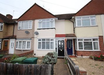 Thumbnail 2 bed terraced house to rent in Ashford Avenue, Ashford, Surrey
