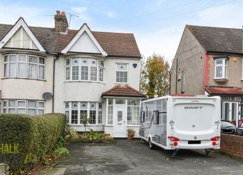 Thumbnail 3 bed semi-detached house for sale in Fairholme Avenue, Gidea Park