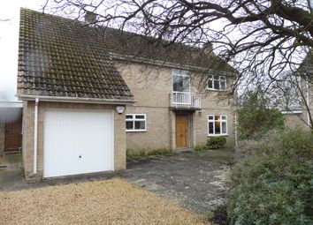 Thumbnail 4 bedroom detached house for sale in Hill Side Close, Ufford, Stamford