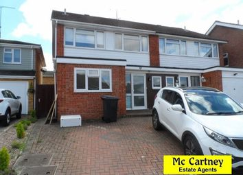Thumbnail 4 bed semi-detached house to rent in Riffhams Drive, Great Baddow, Chelmsford