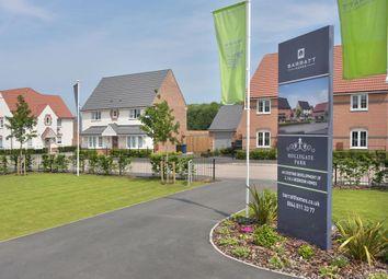 "Thumbnail 4 bedroom detached house for sale in ""Barkestone"" at Hollygate Lane, Cotgrave, Nottingham"