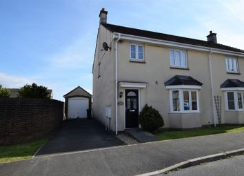 Thumbnail 3 bed semi-detached house for sale in Robin Drive, Launceston