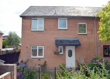 Thumbnail 3 bedroom end terrace house for sale in 176, Lon Dolafon, Vaynor, Newtown, Powys