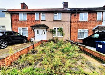 Thumbnail 2 bed terraced house for sale in Grange Road, Burnt Oak, Edgware