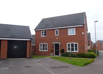 Thumbnail 3 bedroom detached house for sale in Abbott Drive, Stoney Stanton, Leicester