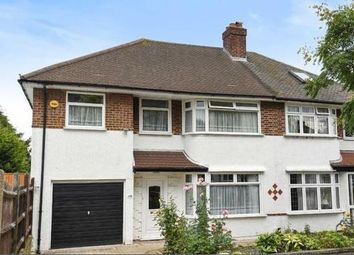 Thumbnail 4 bed semi-detached house to rent in Chatham Avenue, Hayes