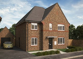 "Thumbnail 5 bed detached house for sale in ""The Flitton"" at Park Crescent, Stewartby, Bedford"