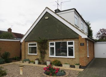 Thumbnail 3 bed detached bungalow for sale in Thornborough Close, Market Harborough, Leicestershire
