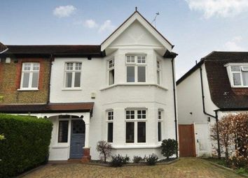 Thumbnail 4 bedroom property to rent in Woodside Avenue, Esher