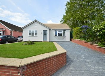 Thumbnail 2 bed detached bungalow for sale in North Street, Hundon, Sudbury