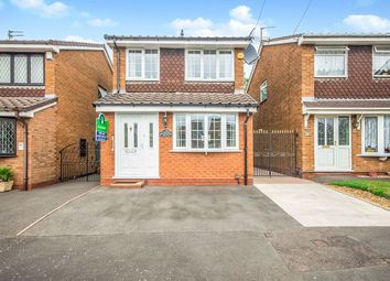 Thumbnail 3 bedroom detached house for sale in Portchester Drive, Wolverhampton