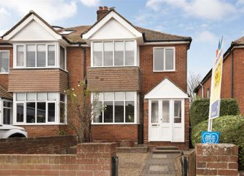 Thumbnail 3 bed semi-detached house for sale in Nash Court Road, Margate