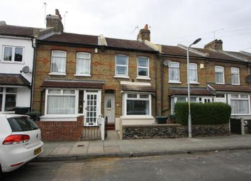 Thumbnail 3 bed terraced house to rent in Cecil Road, Northfleet