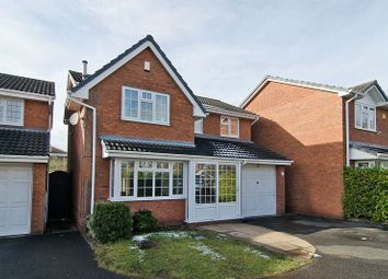 Thumbnail 4 bed detached house for sale in Spinney Close, Chase Terrace, Burntwood