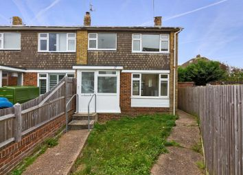 Thumbnail 3 bed terraced house to rent in Northbourne Close, Shoreham-By-Sea