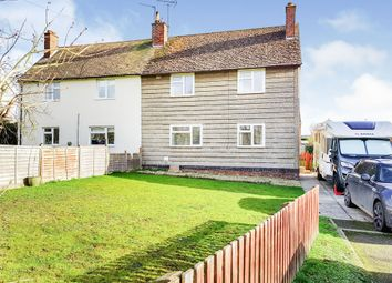 Thumbnail 3 bed semi-detached house for sale in Butt Lane, North Luffenham, Oakham