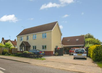 Thumbnail 4 bed detached house for sale in Ashe Row, Campsea Ashe, Woodbridge