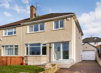 Thumbnail 3 bed semi-detached house for sale in Larchfield Drive, High Burnside, Glasgow