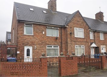 Thumbnail 3 bed end terrace house for sale in Bray Road, Liverpool